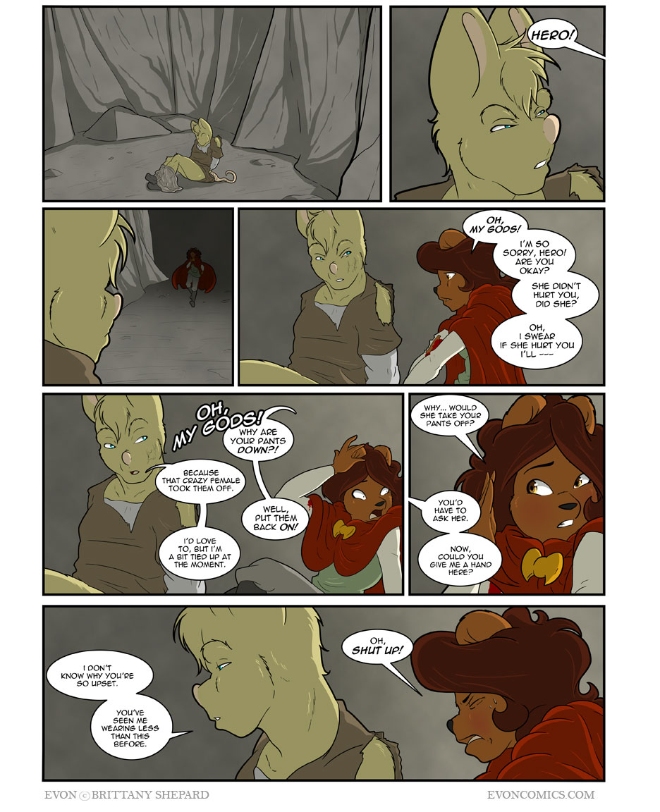 Volume Four, Chapter 16, Page 640